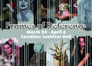 Senior capstone exhibition Frames of Reference on display at UNCP