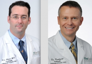 FirstHealth of the Carolinas' Peter I. Ellman, M.D., and John F. Krahnert Jr., M.D.