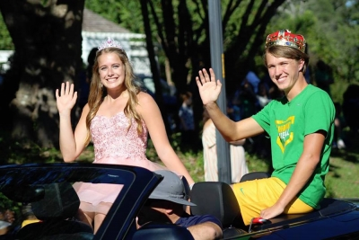 "Student-athletes Hudson and Lampley earn ""Mr. and Miss School Spirit"" during Homecoming 2018"