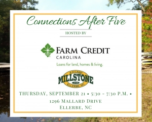 Connections After 5 is a networking event set for local professionals on Thursday, Sept. 21, 2017.