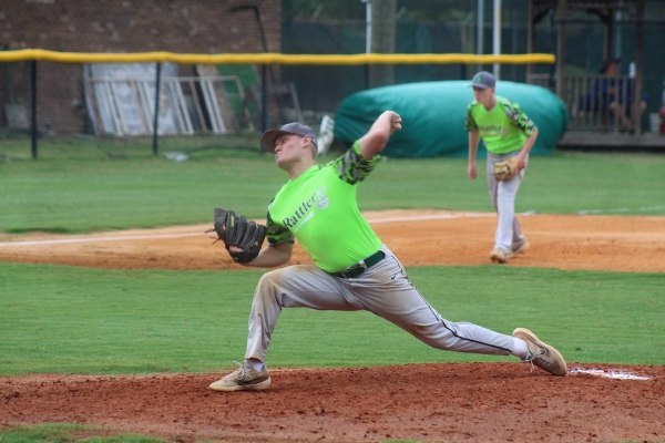 ROSports File Photo: Luke Preslar pitched a near complete game in Wednesday's one-run loss to Scotland.