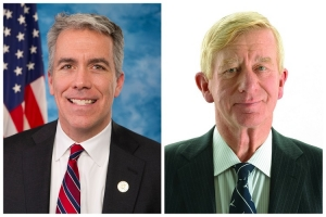 Former U.S. Rep. Joe Walsh of Illinois and former Massachusetts governor Bill Weld will be on the Republican primary ballot along with President Donald Trump in March.