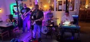 Dark Horse performs at Hudson Brothers Deli in March. The band will play a free show at the Berry Patch on Thursday.