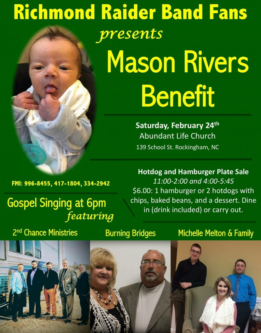 The Richmond Observer - Benefit to Be Held for Local Baby