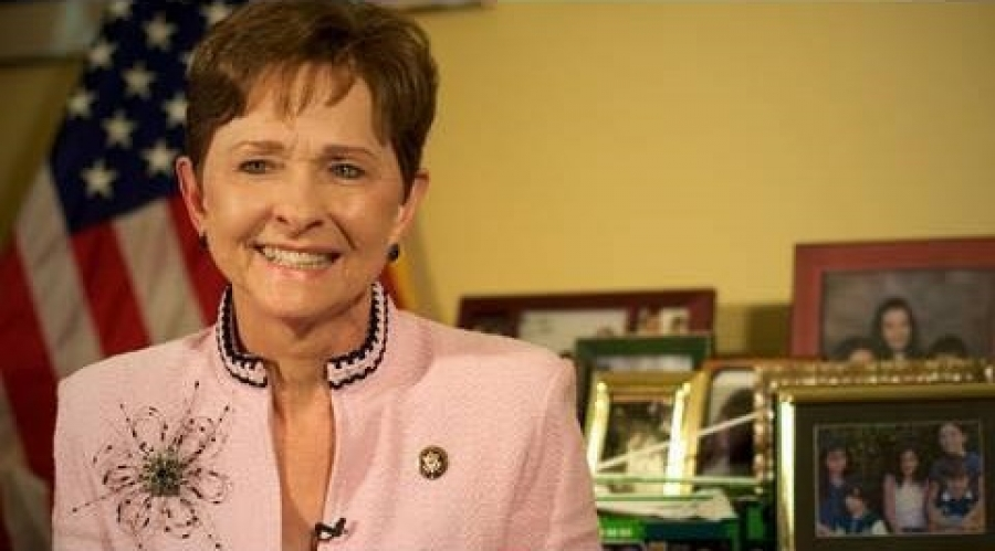 Former Congresswoman Sue Myrick, who served the ninth district of NC from 1995-2013.