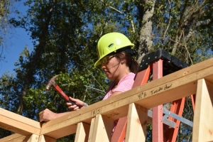 The United Way of Richmond County's annual Day of Caring has turned into multiple days, with the organization helping out several of its partnering agencies, including Habitat for Humanity.