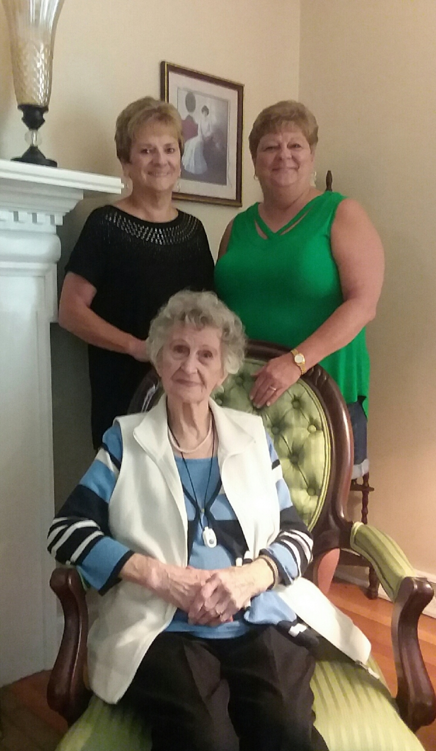 Willa Gibson Of Rockingham Celebrates 100th Birthday With Nieces Wanda Clark And Nancy Leviner