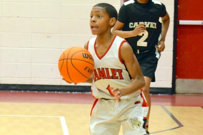 JV Drake hit the game-winning free throw with 11 seconds left in Thursday's conference game against Carver.