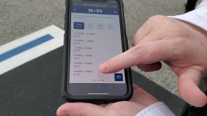 With the new Food Lion To-Go service, customers of the store on Fayetteville Road can now order their groceries and pick them up when they're ready.