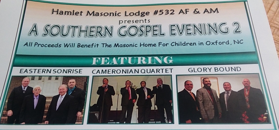 The Masonic Observer: Southern Gospel Groups To Perform