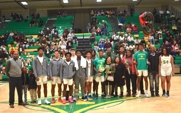 The Raiders join seniors Quamir Sivels and Jarvis Tillman on senior night, a 67-62 win for Richmond.