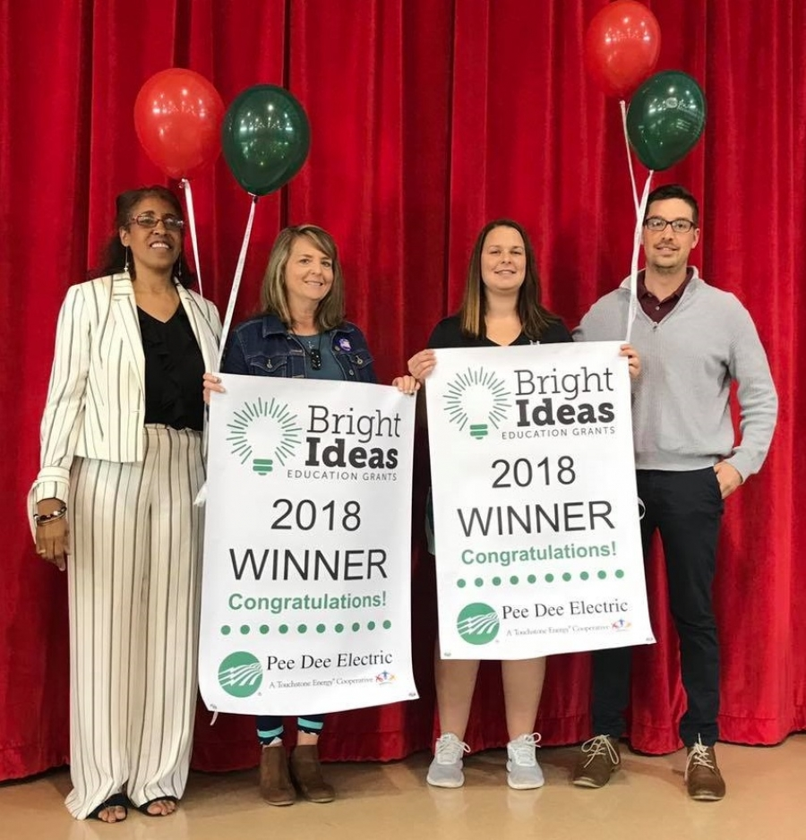 The Richmond Observer Pee Dee Electric Awards Grants To Educators