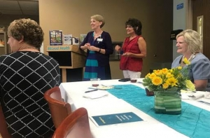 On Sept. 12, Teresa Welch was honored by administration and human resources leadership with the 2019 Employee Service Award for her 35 years of service to the hospital. There were 30 employees honored throughout the event, representing more than 375 cumulative years of caring for patients and families living in Chesterfield and Marlboro counties.